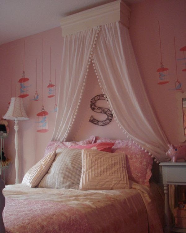 15 Stylish, chic and sophisticated canopy beds for girls