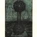 Between earth and sky07,(7- 50),複合媒材,16×22cm,1999