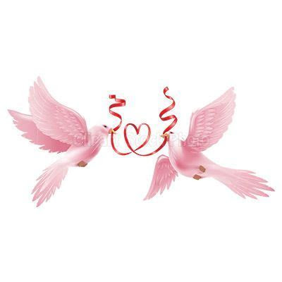 free downloadable wedding clipart   Wedding Dove Clipart