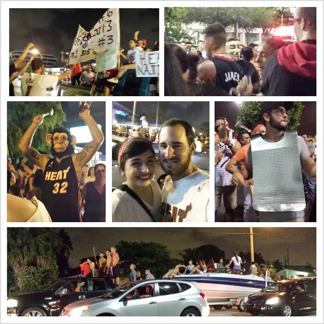 Miami Heat Win_49th st Hialeah