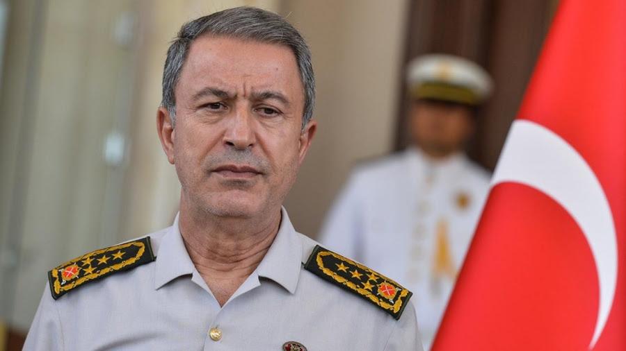 Νέες προκλήσεις Akar: Η Τουρκία δεν θα επιτρέψει προκλητικές πράξεις σε Αιγαίο και Μεσόγειο