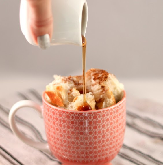Dorm Food: French Toast in a Cup