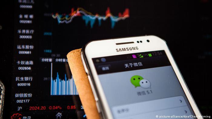China Zensur Messenger App (picture-alliance/dpa/Chen Weiming)