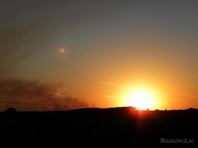 DSCN6821 6 OCT 10 sunset