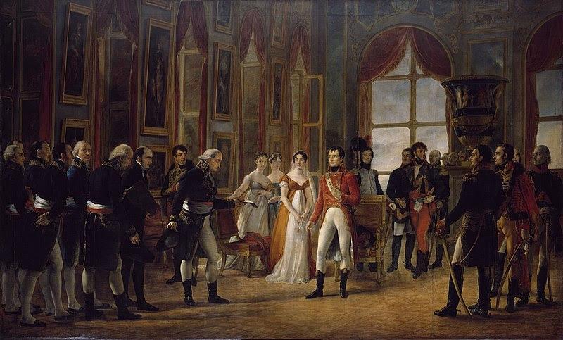 File:Napoléon Ier reçoit à Saint-Cloud le Senatus-Consulte qui le proclame empereur des Français.jpg