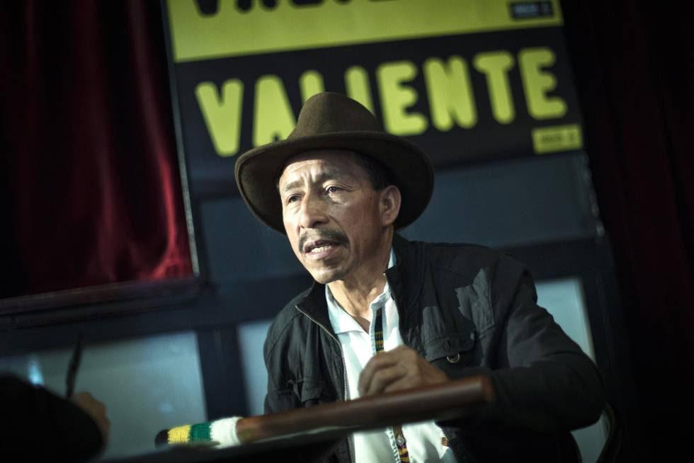Pascual Bernabé durante la entrevista este martes en Madrid.