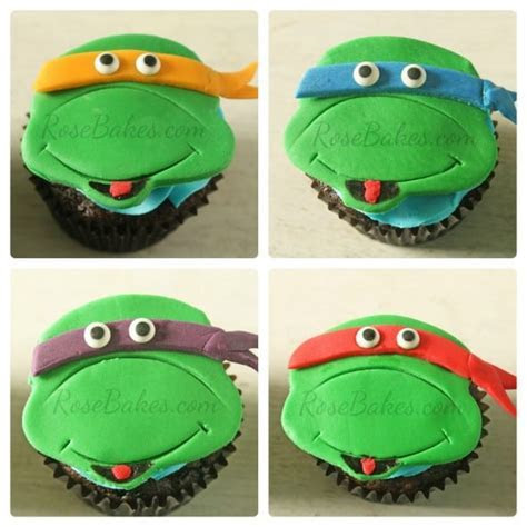 Turtle Cupcake Topper Cake Ideas and Designs