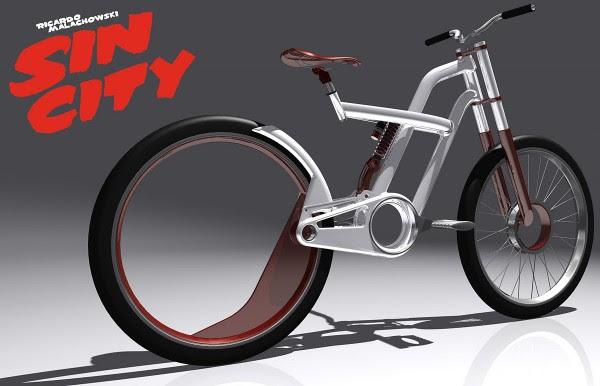 Sin City, urban bike design by Richard Malachowski