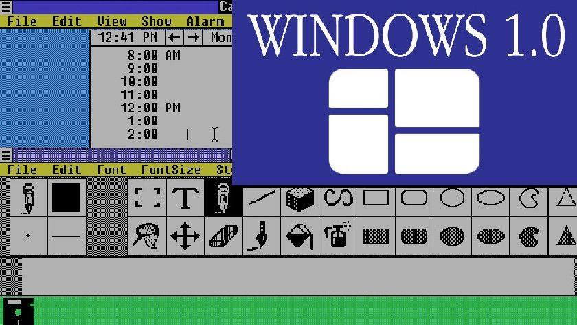 Windows 1.0 cumple hoy 30 años