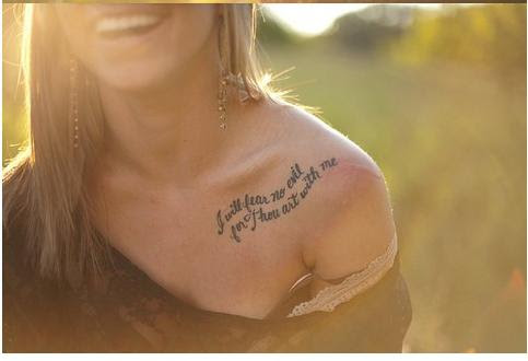 Quote Tattoo Images Designs