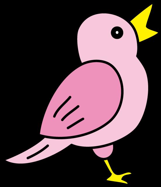 小鳥の無料素材 イラストポップ 小鳥のイラスト画像2017年酉年年賀状