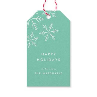 Snowflake | Holiday gift tags Pack of gift tags