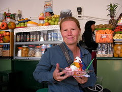 salade de fruit au marché de Sucre