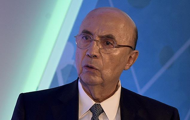O ministro da Fazenda, Henrique Meirelles, participa de seminário sobre a reforma da Previdência, em Brasília (DF), nesta segunda