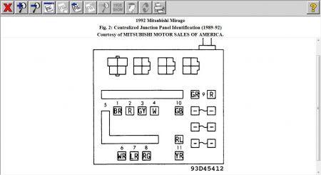 94 Mitsubishi 3000gt Fuse Box Diagram - Wiring Diagram ...