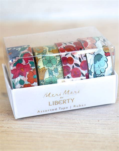 Liberty Print Washi Tape   Paper Tape for Craft & Decoration