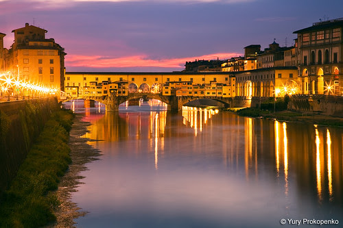 Florence, Italy :: Ponte Vecchio by -yury-