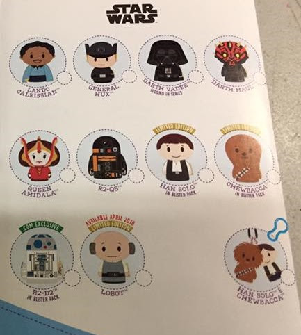 Star Wars 2018 Itty Bittys | Anakin And His Angel