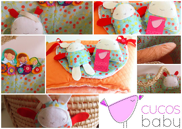 Creations with my cherry fabric by cucos baby