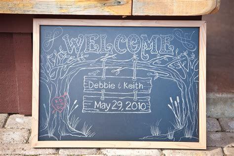 Coyea's blog: chalkboard wedding signs