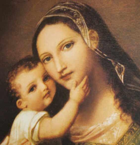 Matka Boża z Dzięciatkiem Jezus