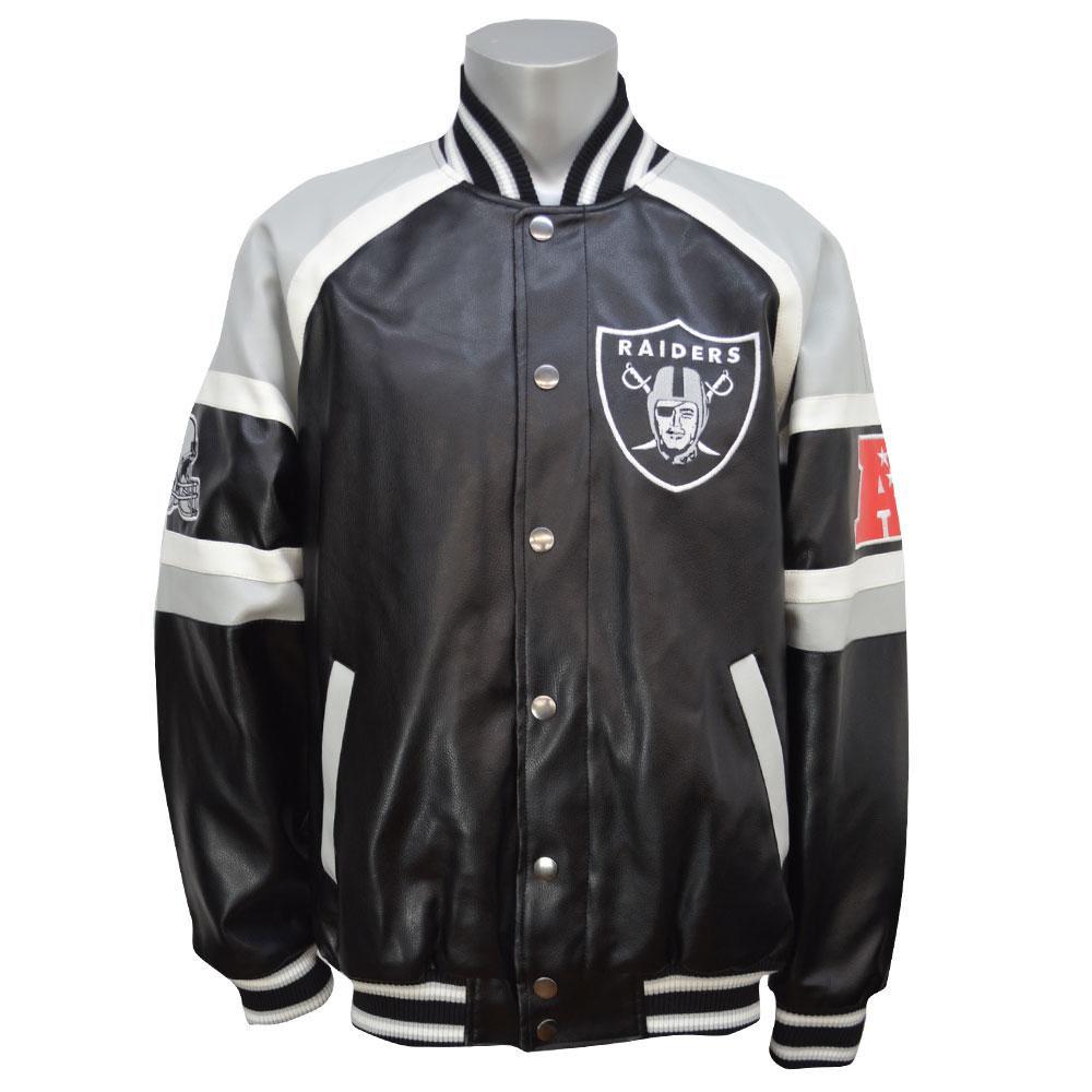 MLB NBA NFL Goods Shop  Rakuten Global Market: NFL Raiders jacket / jumper Defense jacket GIII