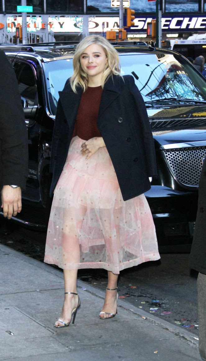 Chloe Moretz: Arriving for Good Morning America -14