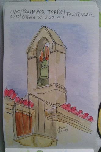 Pormenor Capela Santa Luzia - Tentugal by JMADesigner