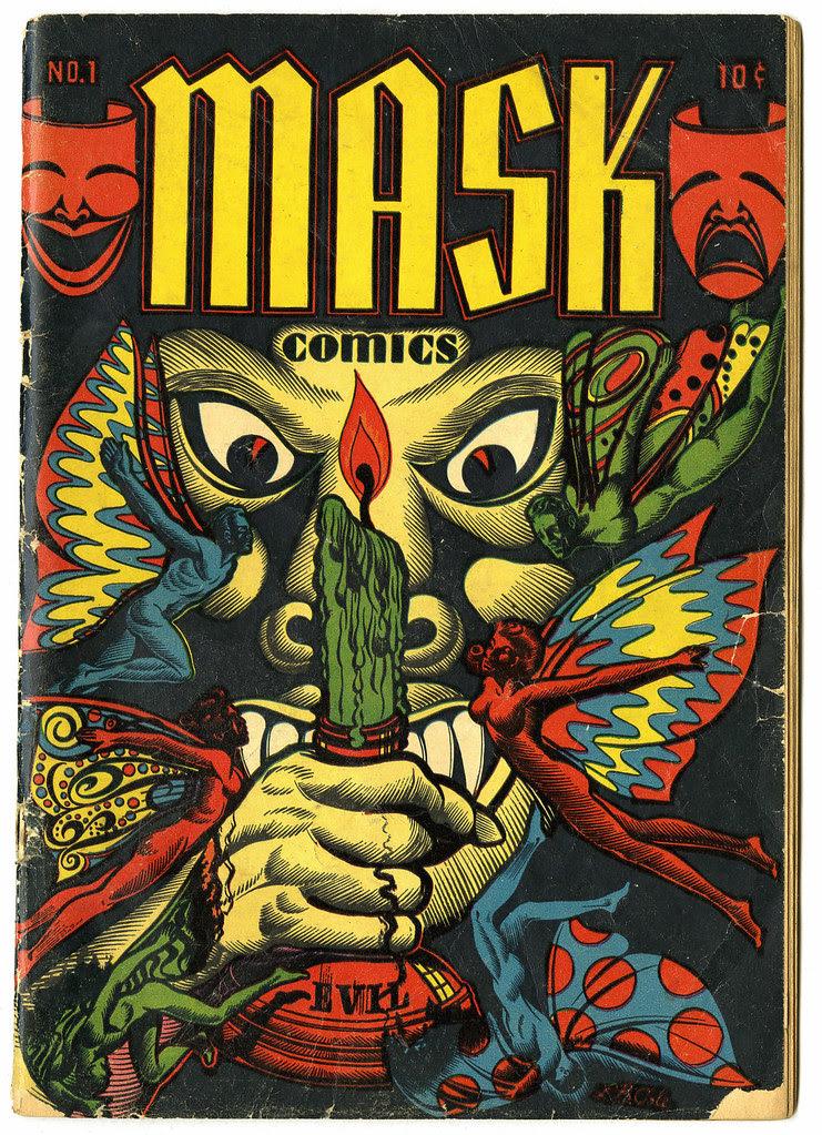 Mask Comics #1 (Rural Home, 1945)
