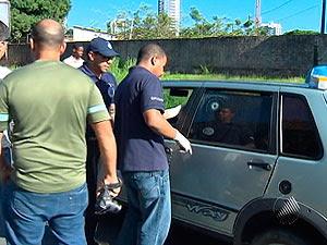Músico ferido pode ter sido vítima de 'saidinha bancária', diz polícia na BA (Foto: Reprodução/TV Bahia)