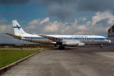 Finnair McDonnell Douglas DC-8-62CF OH-LFY (msn 46130) CDG (Christian Volpati). Image: 913280.
