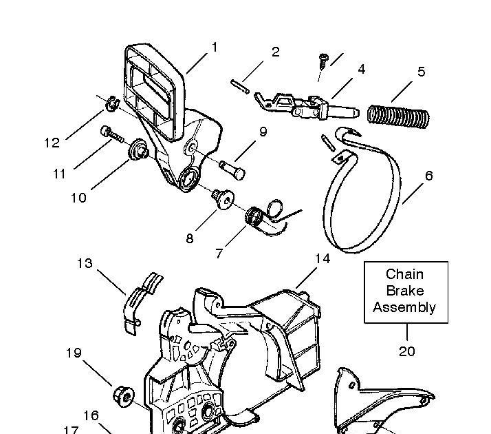 34 Husqvarna 41 Chainsaw Parts Diagram