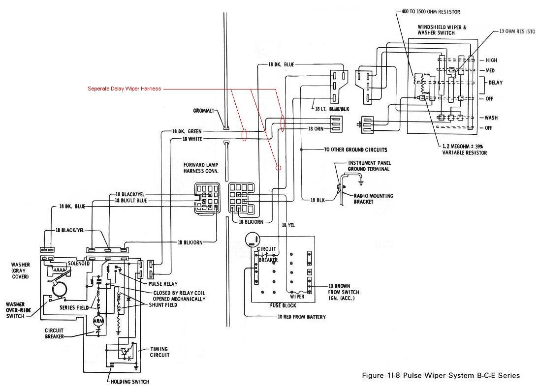 1964 Chevrolet C10 Wiring Diagram