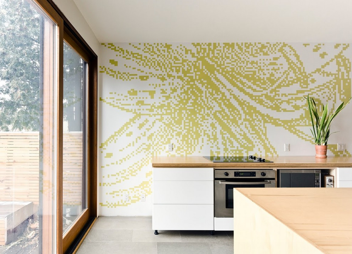 Kitchen Wall Ideas | afreakatheart