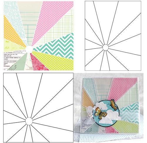 sunburst printable & overlays