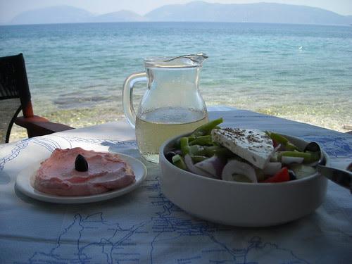 Ed ecco il pranzo!