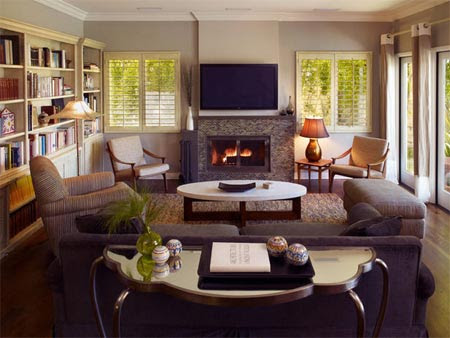 HOME DZINE Home Decor | Living with low ceilings