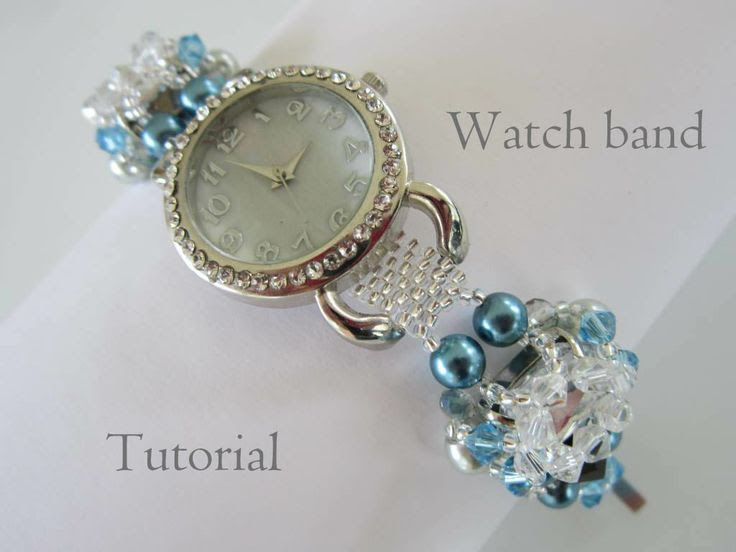 Woman's Watch Band https://www.etsy.com/listing/191660881/pdf-instractions-beaded-woman-watch-band?