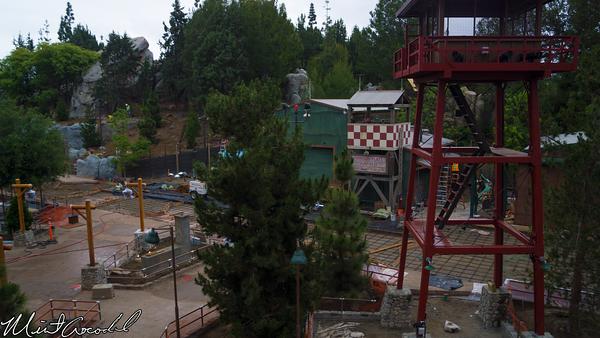 Disneyland Resort, Disneyland, Disney California Adventure, Condor Flats, Grizzly, Peak, Airfield, Monorail, Refurbishment, Refurbish, Refurb