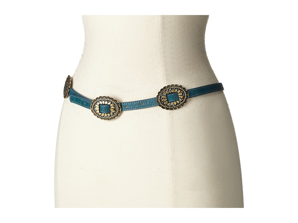 Leatherock - 1706 (Wigwam Tea) Women's Belts