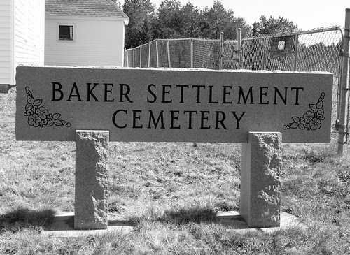 Baker Settlement Sign by midgefrazel