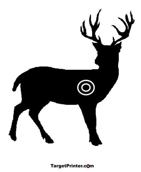 Free Deer Shooting Targets Printable | targets | Pinterest | Funny ...