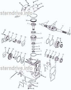 Omc Parts Exploded View Drawings Outdrive Repair Help Video