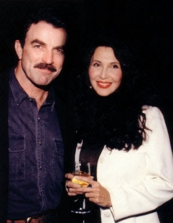 Brenda Venus with Tom Selleck