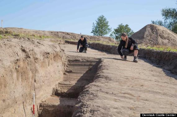 viking fortress excavation