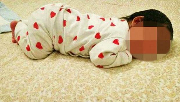 Anúncio tinha quatro fotos do bebê então com apenas 40 dias de vida (Foto: Reprodução/eBay)