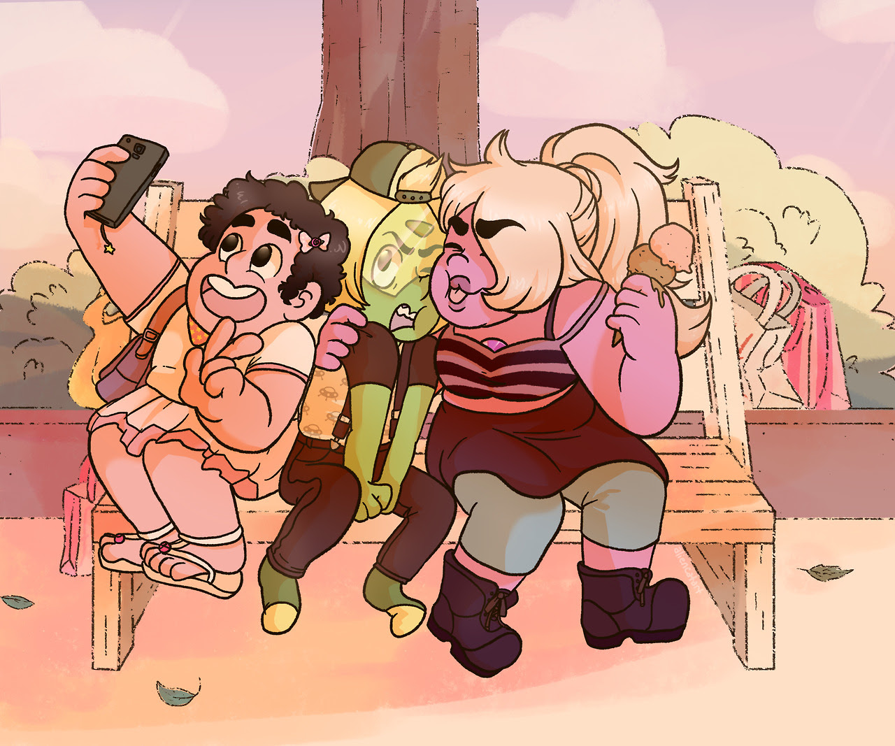 The Shorty Squad go out shopping making store clerks everywhere confused as to why that small green girl refuses to even try on shoes bonus selfie!: