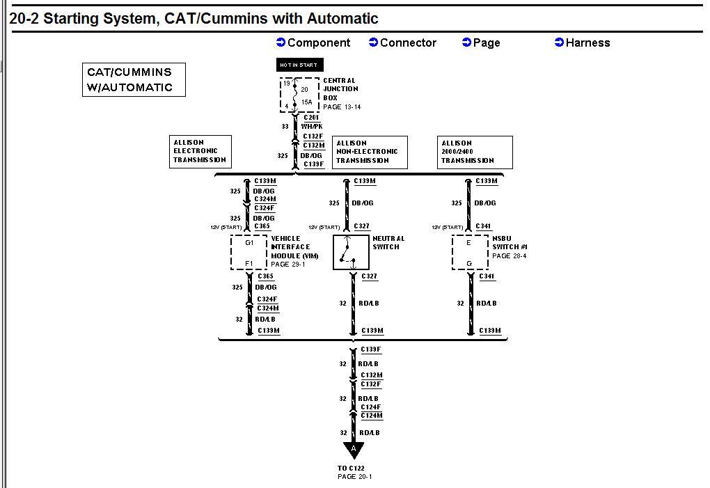 Allison Tran Wiring Harnes Diagram 2007 F650