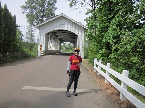 Me and the Larwood Bridge
