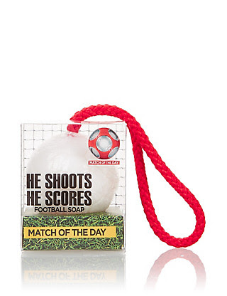 He Shoots, He Scores! Soap on a Rope 100g Home